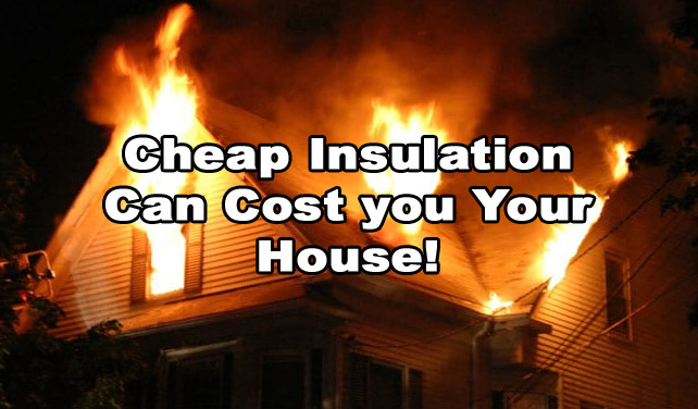 dont be cheap when buying insulation for your home